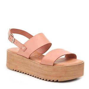 NWOB Musse & Cloud Isadora Platform Sandal size 10